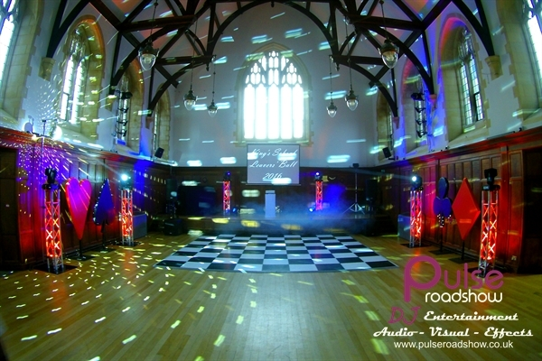 Kings School | Events Package | Projection | 6 Totems